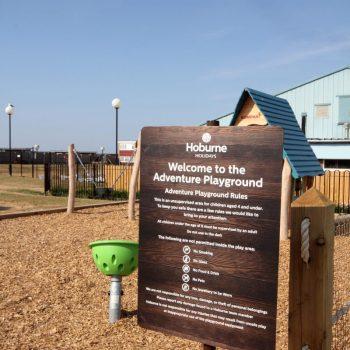 Hoburne Naish Adventure Play area